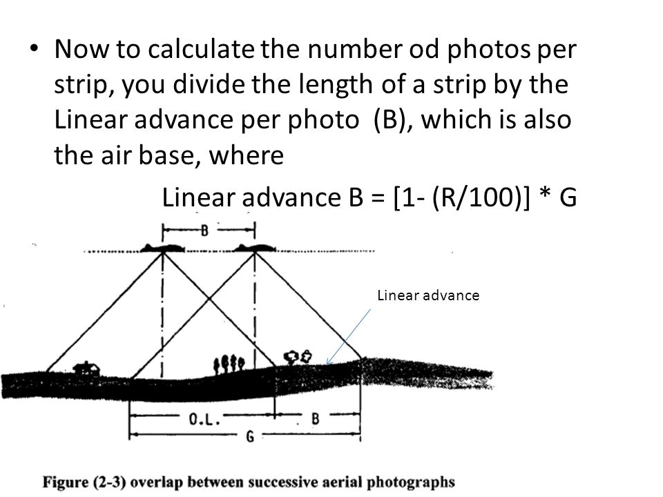 Linear advance B = [1- (R/100)] * G